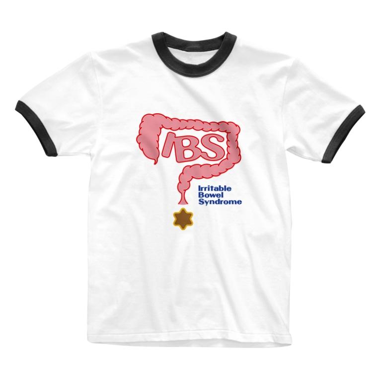 Coedo-studio-z(コエド・スタヂオ・ゼット)の過敏性腸症候群(IBS下痢型) Ringer T-shirts