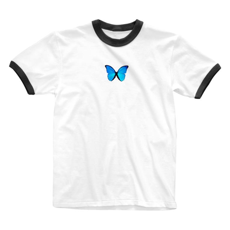 Koco'sのLIKE Butterfly Ringer T-shirts