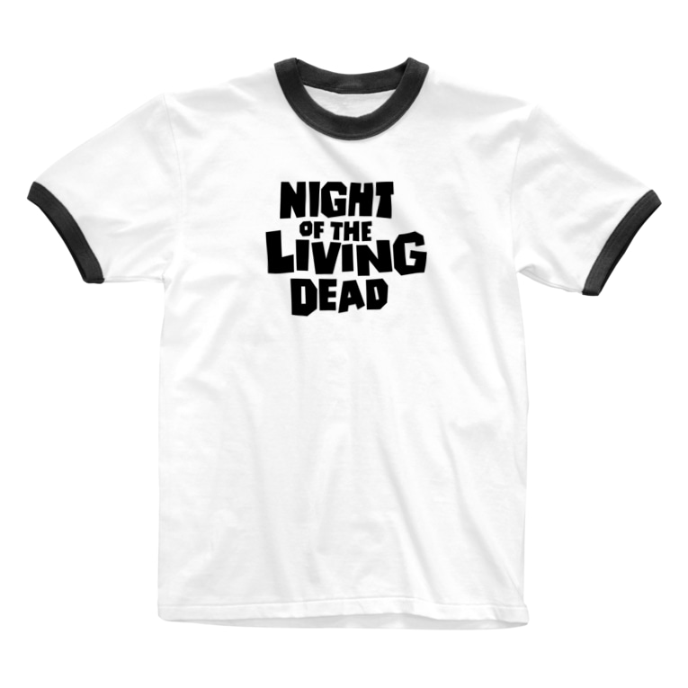 stereovisionのNight of the Living Dead_その3 Ringer T-shirts