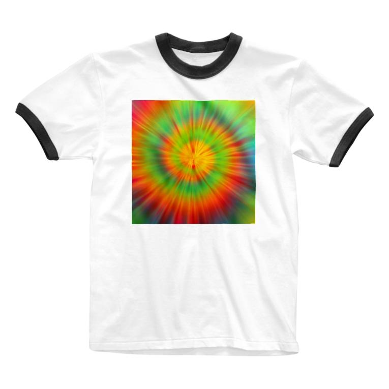 gemgemshopのサイケデリック Ringer T-shirts