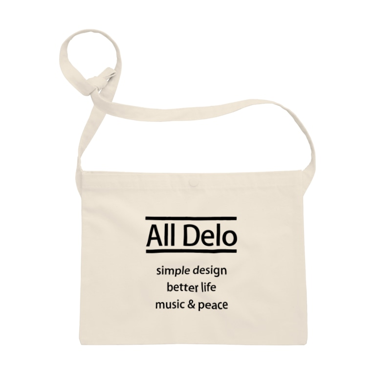 United Sweet Soul MerchのAll Delo - better life Sacoches