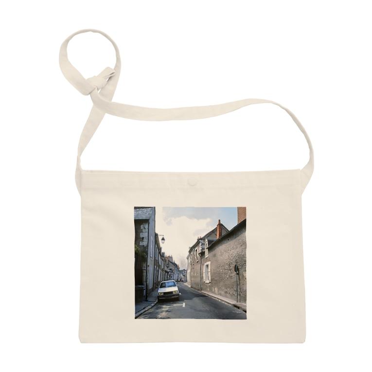 FUCHSGOLDのフランス:ブロワの風景 France: view of Blois Sacoches