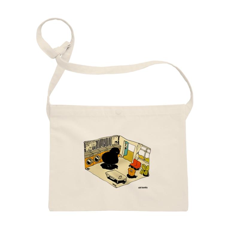 YASHINO CLUB SHOPのcoin laundry(テイクアウト推進原価奉仕) Sacoches