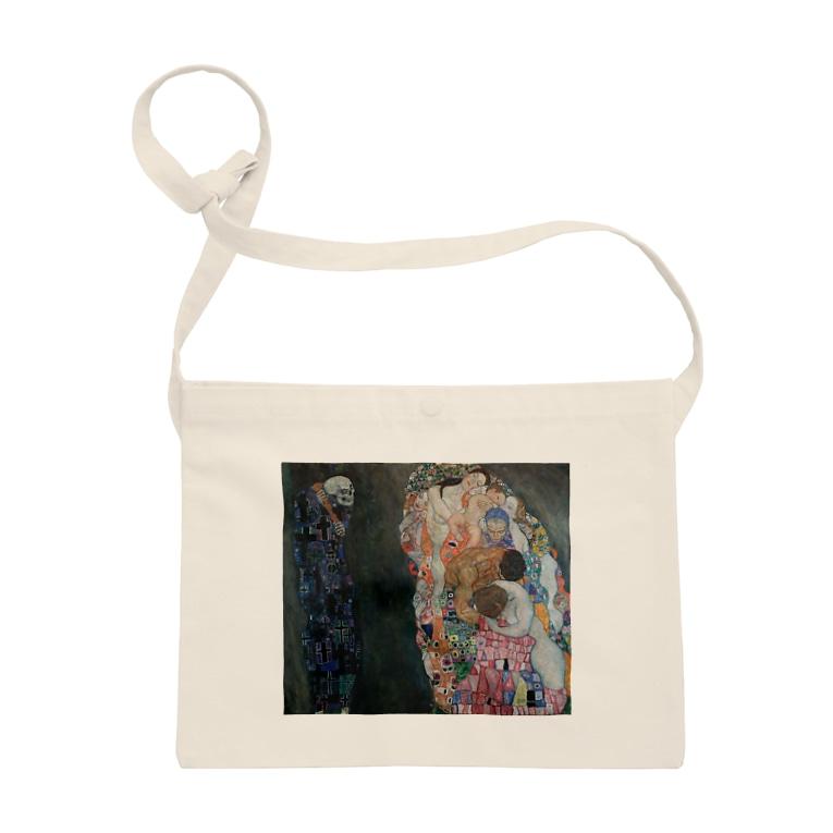 art-standard(アートスタンダード)の グスタフ・クリムト(Gustav Klimt) / 『死と生』(1915年) Sacoches