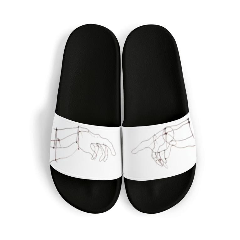 pulTの天地創造 針金アート Sandal