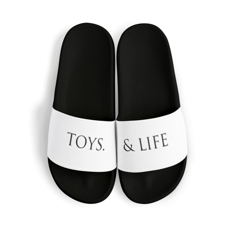TOYS. & LIFEのLOGO sandals Sandals