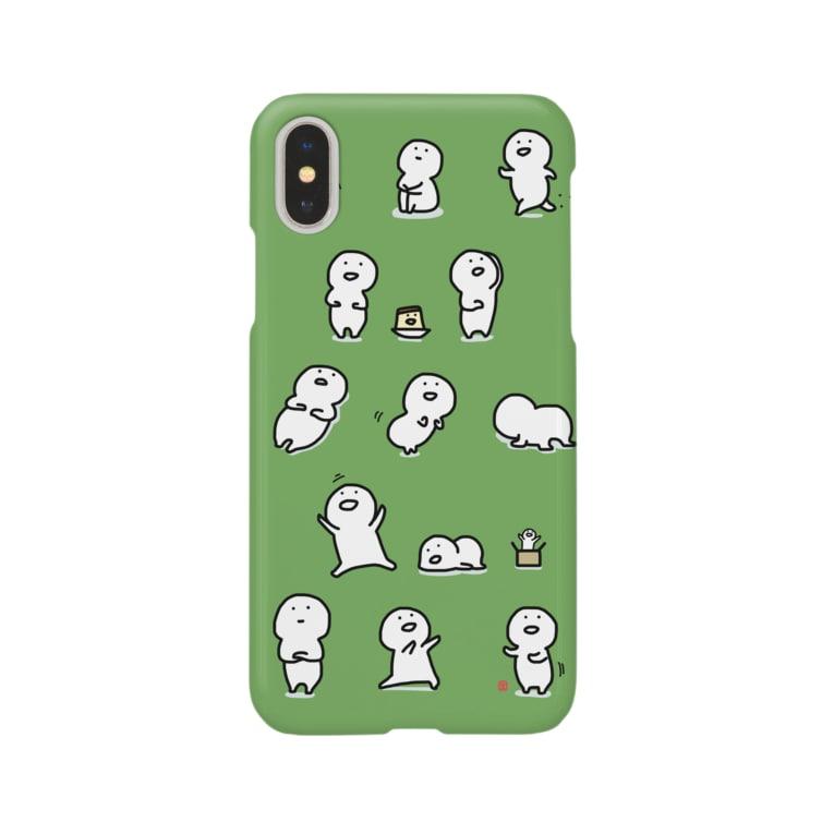 お文具のいっぱいお文具さん Smartphone cases