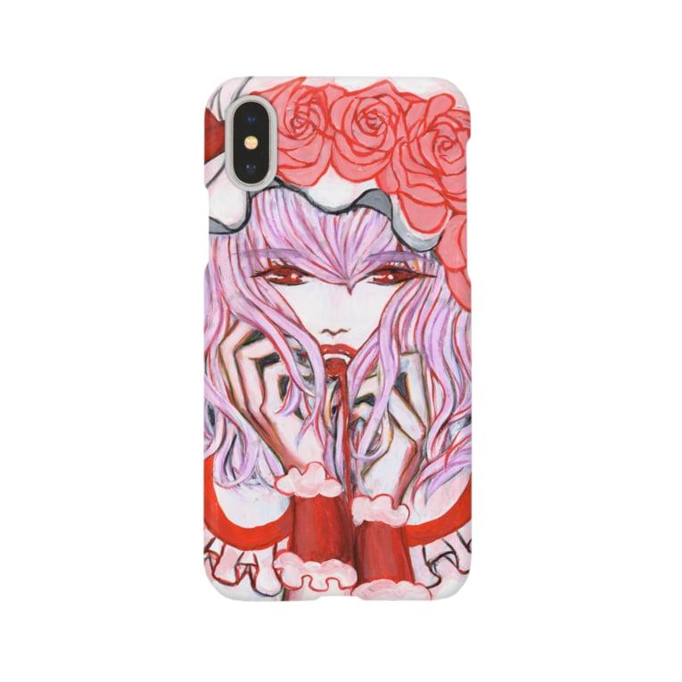 🌼*゚がーべらめらん*゚🌼の東方projectレミリアスカーレット Smartphone Case