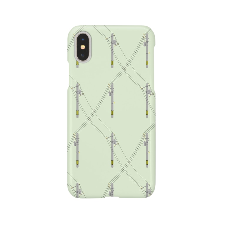 Daphneの電信柱(Day) Smartphone cases