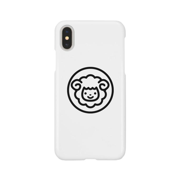 smilesheep公式グッズショップのsmilesheepグッズ Smartphone cases