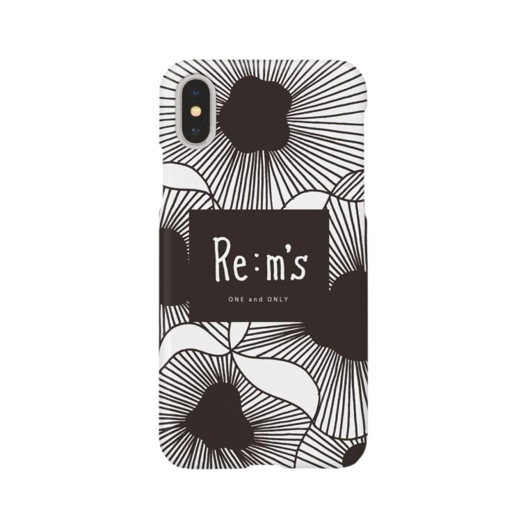 Re:m'sのMONOKURO Smartphone cases