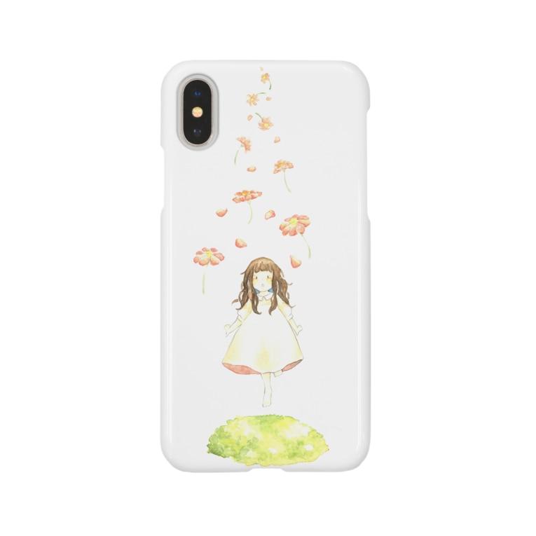 chisoraのお花とすてきな世界へ Smartphone cases