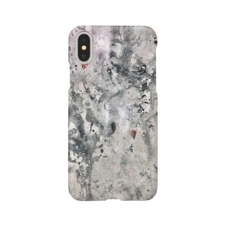タカハシ商店のロック Smartphone cases