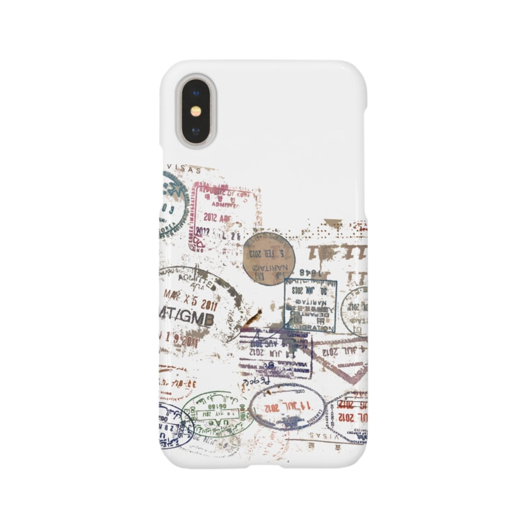Fuu and Mar 🐾のtravel stamps.2 Smartphone cases