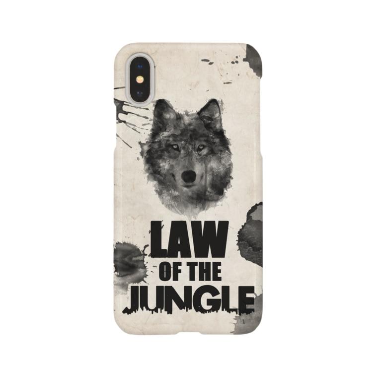 sakemotoの弱肉強食(Law of the Jungle) Smartphone cases