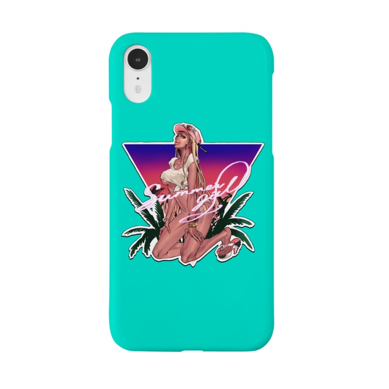 小早川のsummer girl Smartphone cases