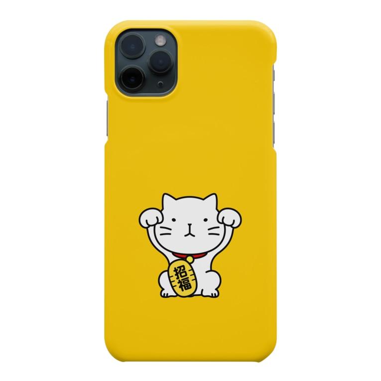 chi-bitの招き猫! Smartphone cases