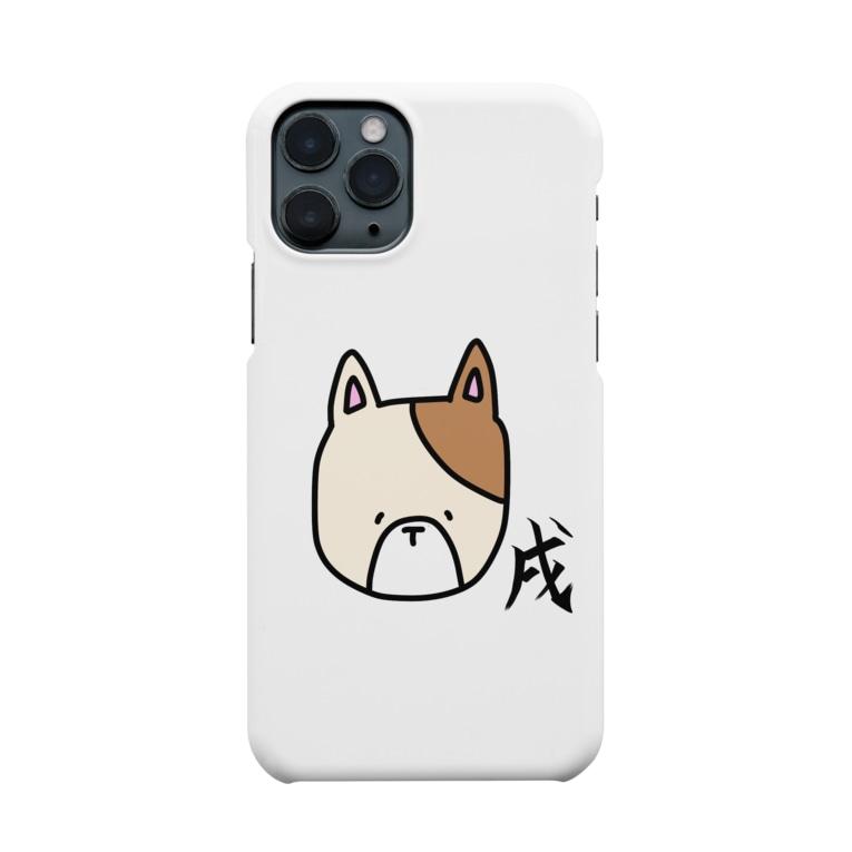 あおい¨̮♪の戌 いぬ Smartphone cases