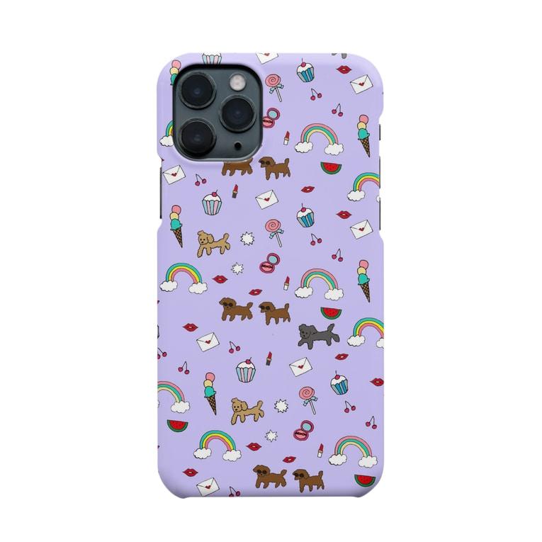 GRAGRAGRAのdogdogdog Smartphone cases