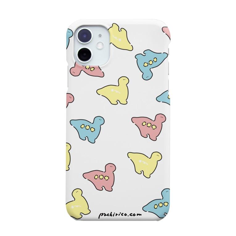PACHIRICO!のカラフルなキョーリュー Smartphone cases