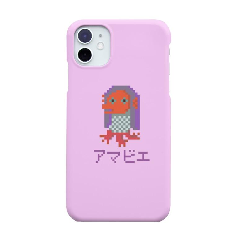 沖田ミツヲ@劇工くらふとのくらふとアマビエさんスマホケース Smartphone cases