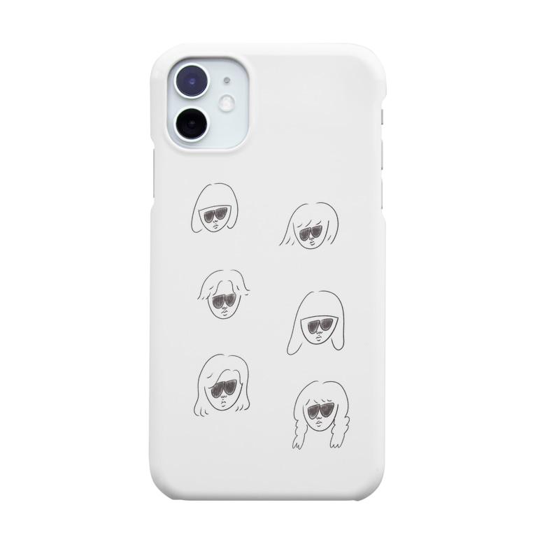 oimoのサングラスの人たち Smartphone cases