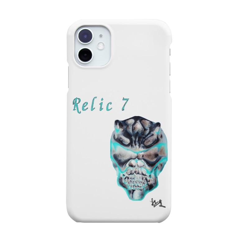 Relic7のRelic 7 二角鬼スカル Smartphone cases