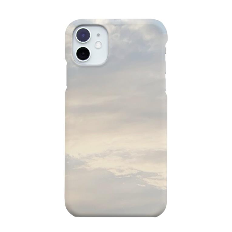 u ..のやさしいお空 Smartphone cases