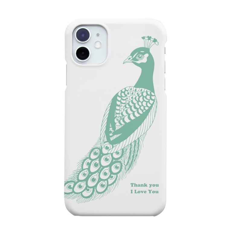 YASUHの孔雀 Smartphone Case