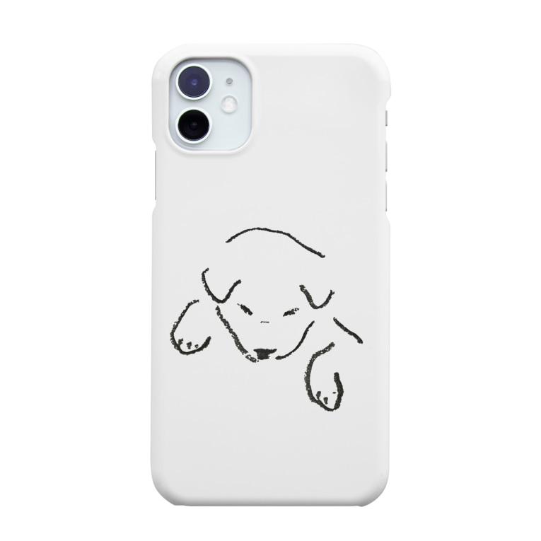 いぬのみせのだっこされてるいぬ Smartphone cases