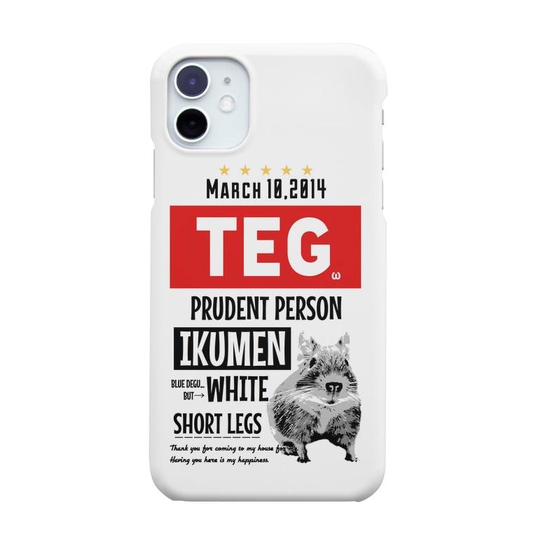 コムタン事務所のテグタンポスター Smartphone cases
