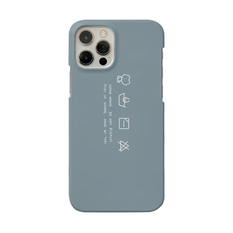 neochiのくまの洗濯表示 Smartphone cases