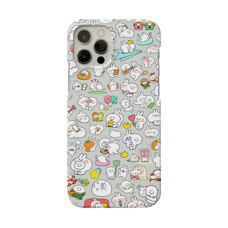 AKIRAMBOWのLots of Spoiled Rabbits / あまえんぼうさちゃんがいっぱい Smartphone cases