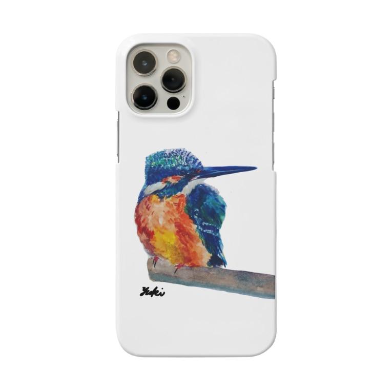 Yuki2222のカワセミblue Smartphone cases