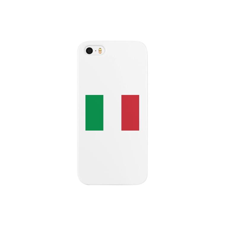 美々野くるみ@金の亡者のイタリア 国旗  Smartphone cases