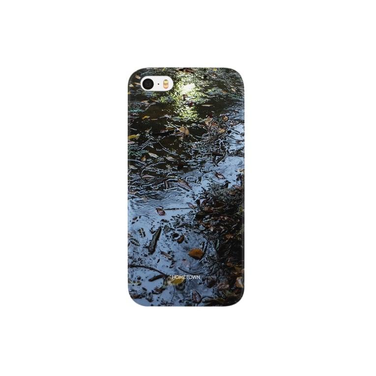 りゅの10/22 水たまり HOMETOWN Smartphone cases