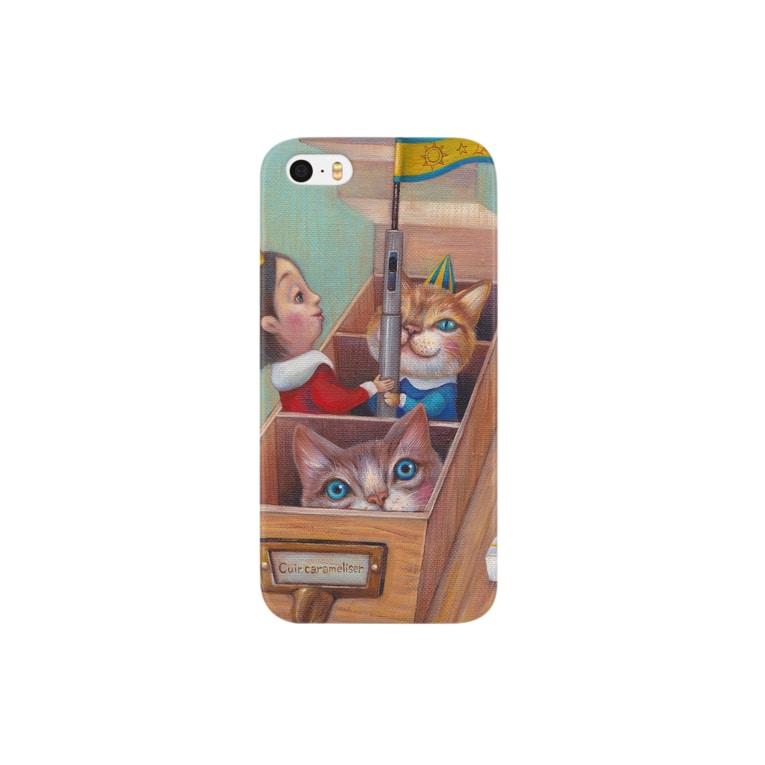 クイールキャラメリゼの道具箱 Smartphone cases