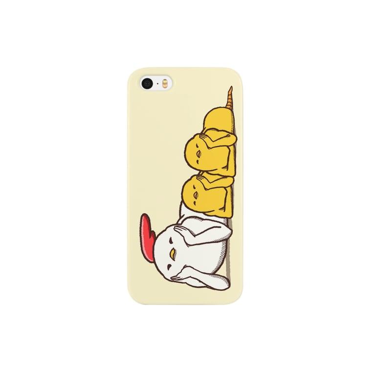 【飛ば鳥】iphone親子・ドアップ スマートフォンケース