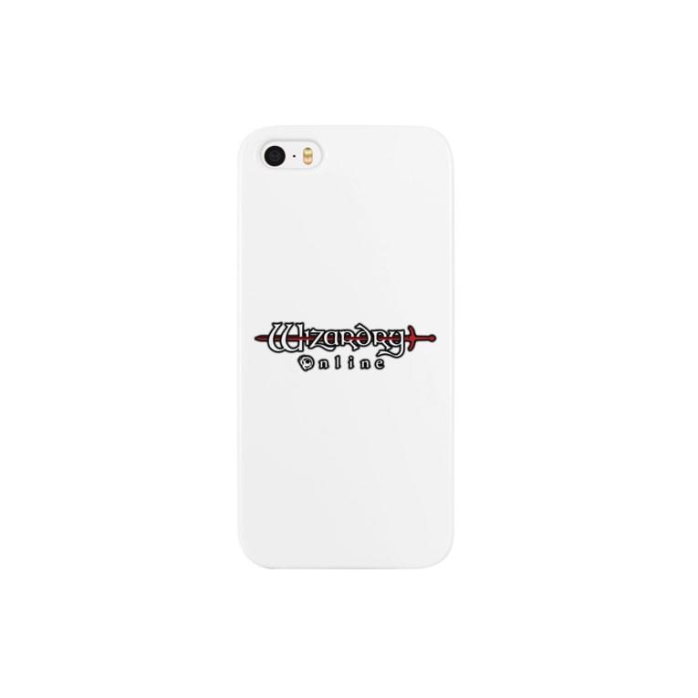 Wizardry Online 公式グッズのWizardry Online ロゴ(ホワイトver.) Smartphone cases