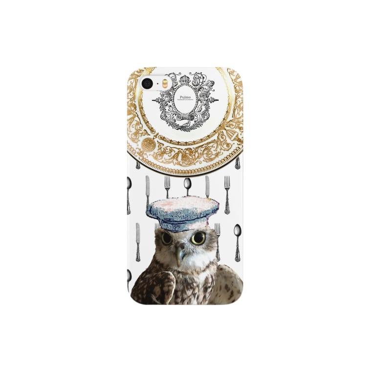 Pulmo(プルモ)のピーポシェフのこだわり Smartphone cases