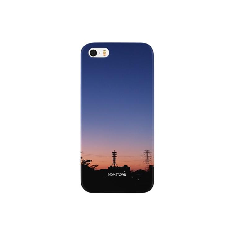 りゅの09/29 青と橙色 HOMETOWN Smartphone cases