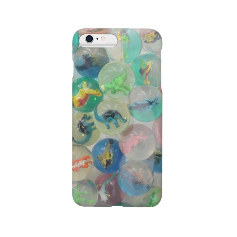 yonesanの恐竜 Smartphone cases