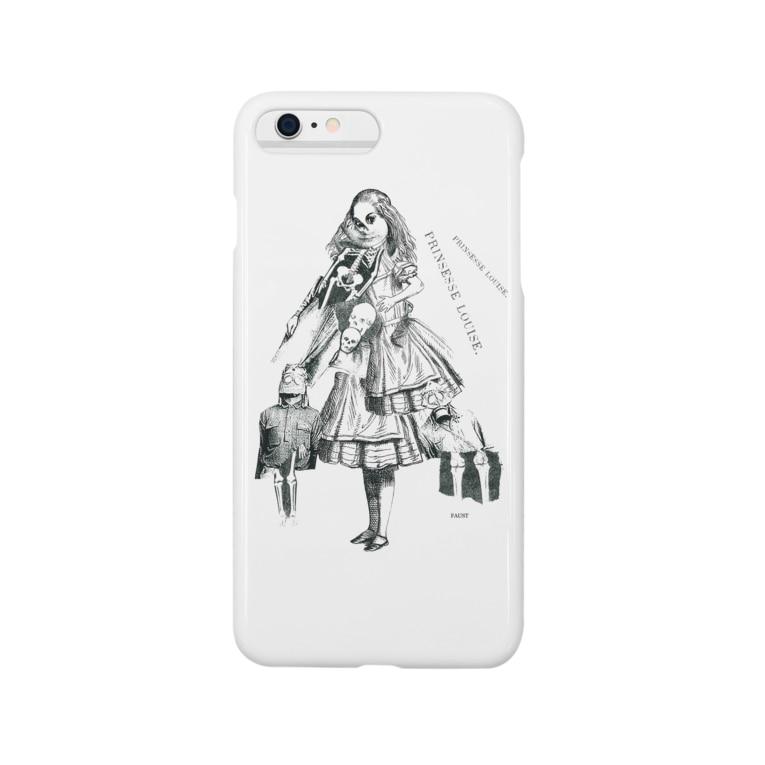 カネシロコウセイ(FAUST)のPRINSESSE LOUISE. Smartphone cases