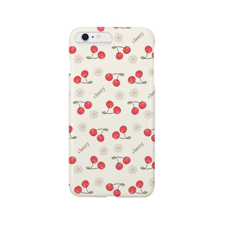 ChocoLapinのcherry&marguerite Smartphone cases