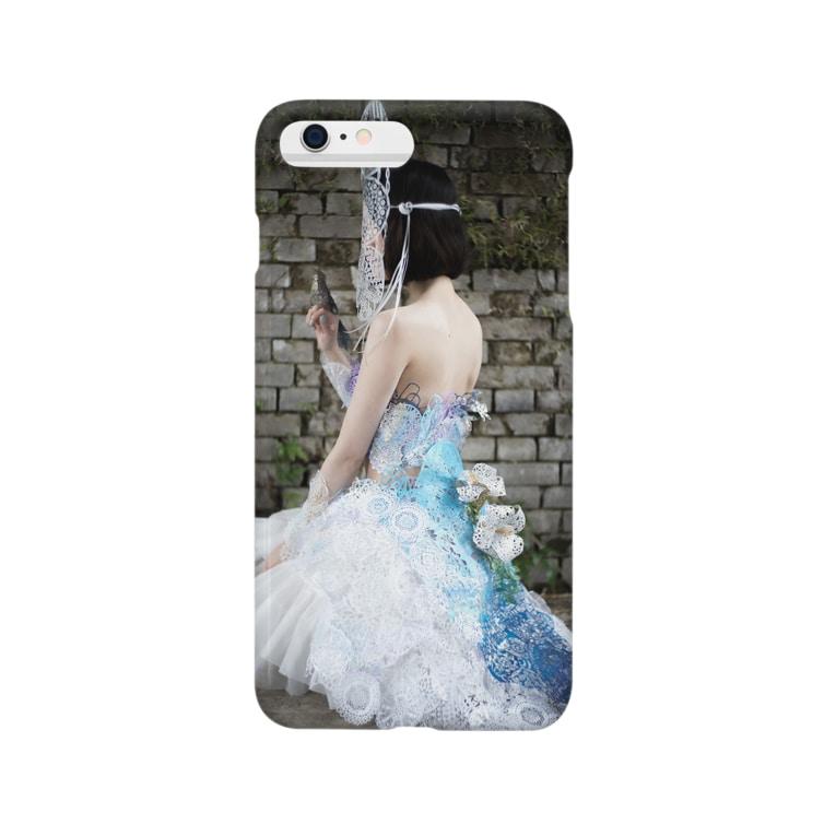 カジタミキの装飾切り絵・シンデレラ Smartphone cases