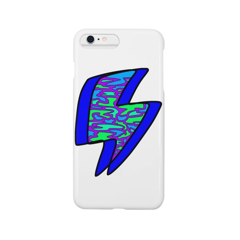 ぼくかえるの迷彩イカヅチ Smartphone cases