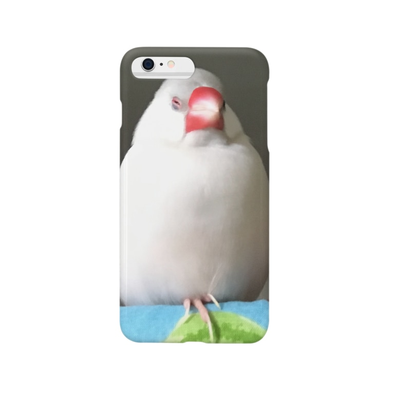 a  .  nの餅文鳥 文太 Smartphone Case