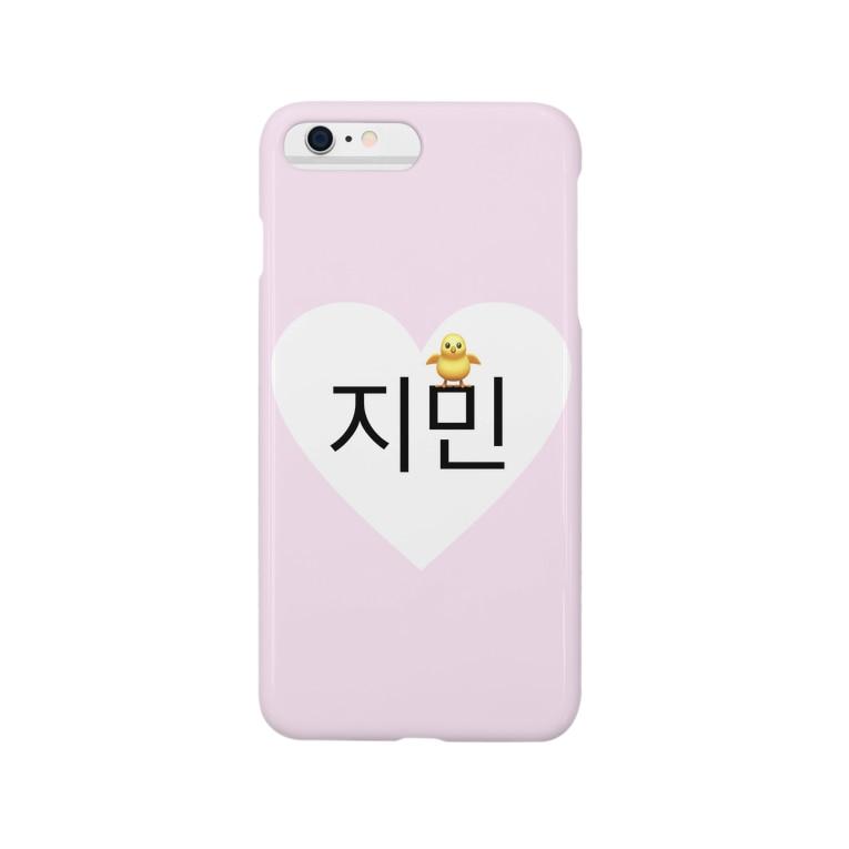 jxk3のジミン  スマホケース Smartphone cases