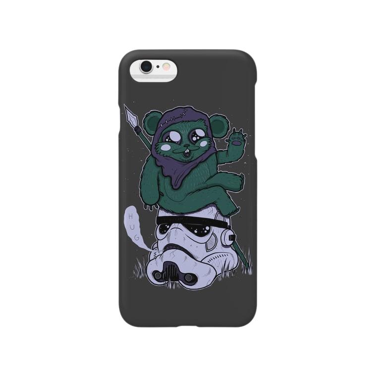 HUGオフォシャルショップのSoldier Charcoal Smartphone cases