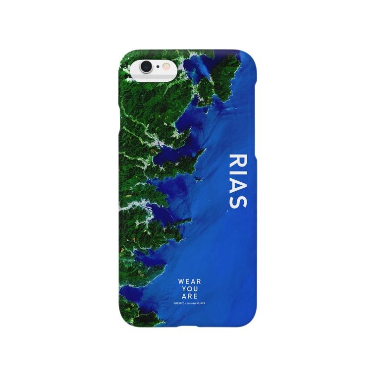 WEAR YOU AREの岩手県 釜石市 スマートフォンケース Smartphone cases